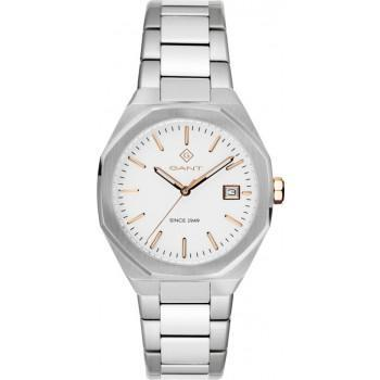 GANT Quincy Ladies - G164001,  Silver case with Stainless Steel Bracelet