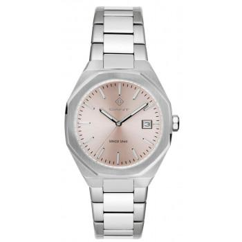 GANT Quincy Ladies - G164002,  Silver case with Stainless Steel Bracelet