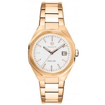 GANT Quincy Ladies - G164004,  Silver case with Stainless Steel Bracelet