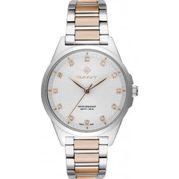 GANT Scarsdale Crystals - G156003, Silver case with Stainless Steel Bracelet