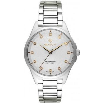 GANT Scarsdale Crystals - G156001, Silver case with Stainless Steel Bracelet