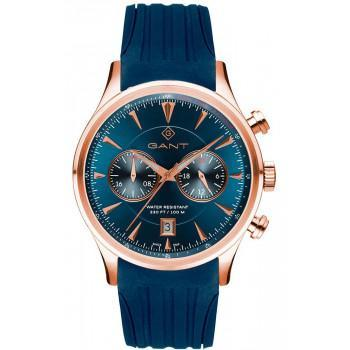 GANT Spencer - G135016,  Rose Gold case with Blue Rubber Strap