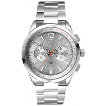 GANT Walworth - G144003,  Silver case with Stainless Steel Bracelet