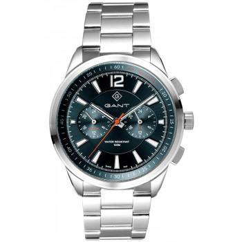 GANT Walworth - G144005,  Silver case with Stainless Steel Bracelet