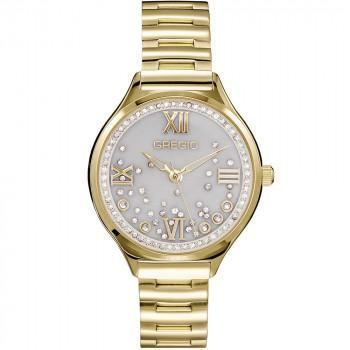 GREGIO Anette Crystals - GR230020, Gold case with Stainless Steel Bracelet