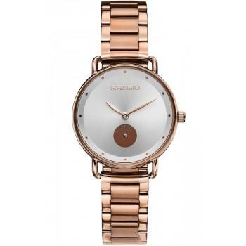 GREGIO Chrystie - GR140032, Rose Gold case with Stainless Steel Bracelet