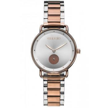 GREGIO Chrystie - GR140040, Rose Gold case with Stainless Steel Bracelet
