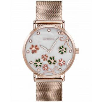 GREGIO Corinne Crystals - GR260030, Rose Gold case with Stainless Steel Bracelet