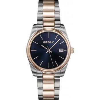 GREGIO Denise - GR280051, Silver case with Stainless Steel Bracelet