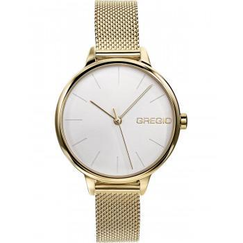 GREGIO Fiorella - GR220020, Gold case with Stainless Steel Bracelet