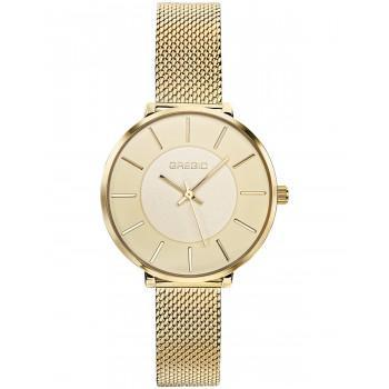 GREGIO Lucia - GR210020, Gold case with Stainless Steel Bracelet