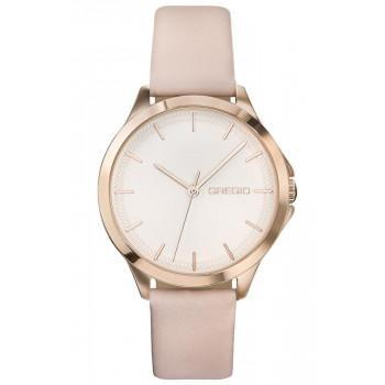 GREGIO Rosebery  - GR150080  Rose Gold case with Pink Leather Strap