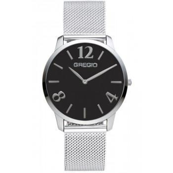 GREGIO Simply-  GR112013,  Silver case with Stainless Steel Bracelet