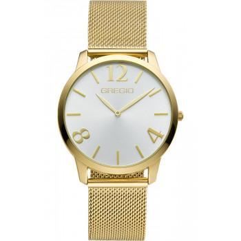 GREGIO Simply  - GR112020,  Gold case with Stainless Steel Bracelet