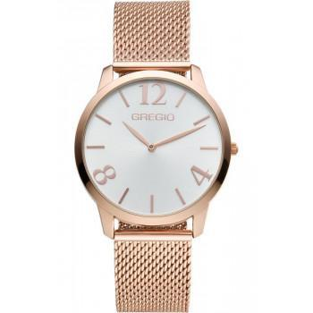 GREGIO Simply  - GR112030, Rose Gold case with Stainless Steel Bracelet