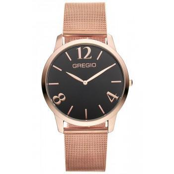 GREGIO Simply Rose Milanese - GR112036, Rose Gold case with Stainless Steel Bracelet