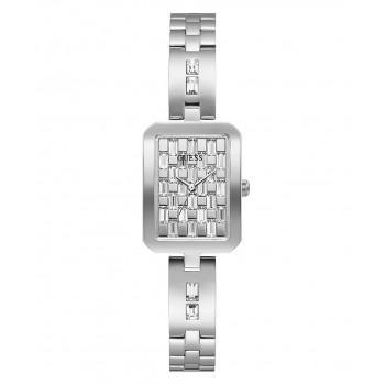 GUESS Crystals Ladies - GW0102L1 , Silver case with Stainless Steel Bracelet