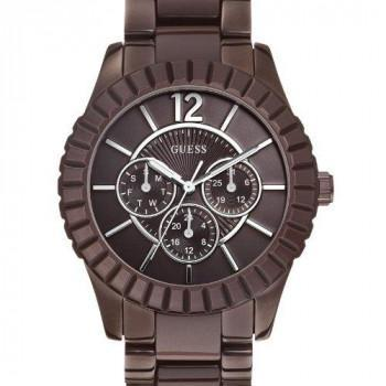 GUESS Facet - W0028L2 Brown case, with Stainless Steel Bracelet