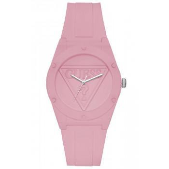 GUESS Ladies  - W1283L4,  Pink case with Pink Rubber Strap
