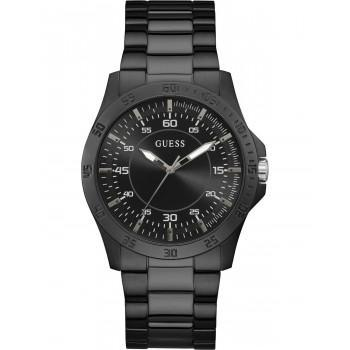 GUESS Men's Colby - GW0207G2 , Black case with Stainless Steel Bracelet