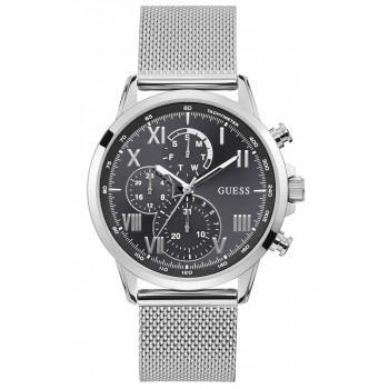 GUESS Men's Multifunction - W1310G1 , Silver case with Stainless Steel Bracelet