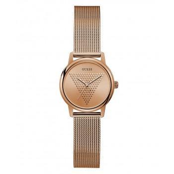 GUESS Micro Imprint - GW0106L3 , Rose Gold case with Stainless Steel Bracelet