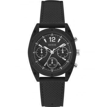 GUESS Multifunction Ladies - W1296L2,  Black case with Black Rubber Strap