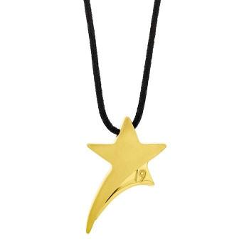Honor Omano Lucky Star Κολιέ - Γούρι από Ορείχαλκο Gold BI019