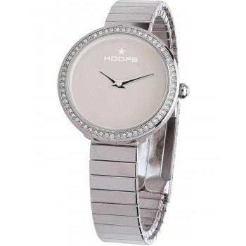 HOOPS Etoile Crystals - 2605LS04, Silver case with Stainless Steel Bracelet