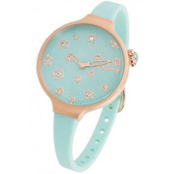 HOOPS Icon Stars - 2562LS04 Rose Gold case, with Blue Rubber Strap