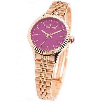 Hoops Luxury Gold - 2560LGA09 Rose Gold case, with Rose Gold Metallic Bracelet