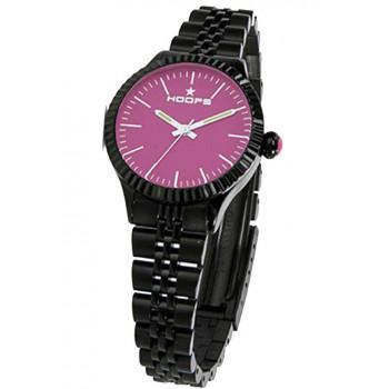 Hoops Luxury Noir - 2560LAB01 Black case, with Black Metallic Bracelet