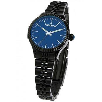 Hoops Luxury Noir - 2560LAB04 Black case, with Black Metallic Bracelet