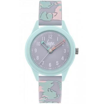 HYPE Kids - HYK011ENP  Light Green case with Miltary Rubber Strap