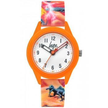 HYPE Kids - HYK011O  Orange case with Multicolor Rubber Strap