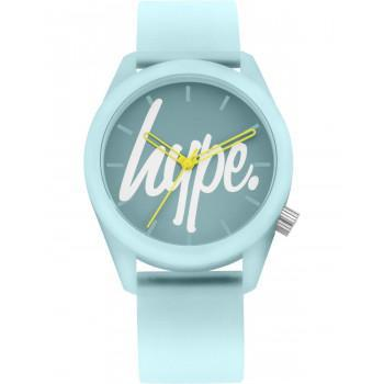 HYPE Ladies - HYU001U  Light Blue case with Light Blue Rubber Strap
