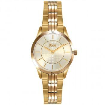JCOU Adele - JU19039-4, Gold case with Stainless Steel Bracelet