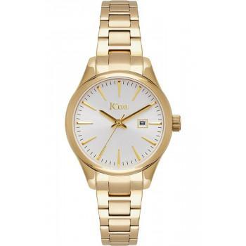 JCOU Aphrodite - JU19051-3, Gold case with Stainless Steel Bracelet