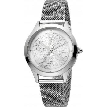 Just CAVALLI Animal - JC1L170M0045,  Silver case with Stainless Steel Bracelet