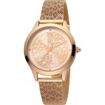 Just CAVALLI Animal - JC1L170M0075, Rose Gold case with Stainless Steel Bracelet