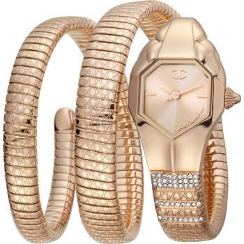 Just CAVALLI Glam Chic Crystals - JC1L112M0035,  Rose Gold case with Stainless Steel Bracelet