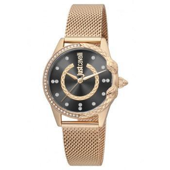 Just CAVALLI Giro Crystals - JC1L095M0085  Rose Gold case with Stainless Steel Bracelet