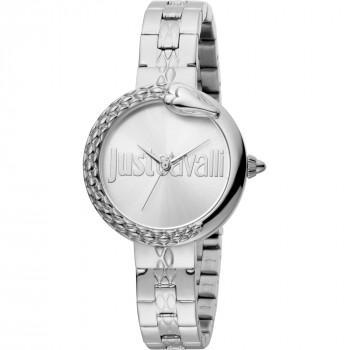 Just CAVALLI Moment  - JC1L097M0065  Silver case with Stainless Steel Bracelet