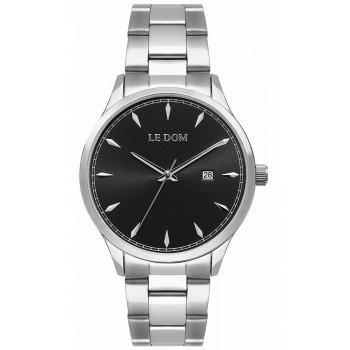 LE DOM Dixon - LD.1105-1, Silver case with Stainless Steel Bracelet