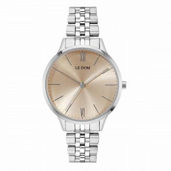 LE DOM Essence  - LD.1275-11, Silver case with Stainless Steel Bracelet