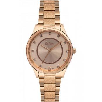LEE COOPER  Ladies Crystals - LC06930.410  Rose Gold case with Stainless Steel Bracelet
