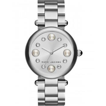 MARC JACOBS Dotty - MJ3475,  Silver case with Stainless Steel Bracelet