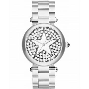 MARC JACOBS Dotty - MJ3477,  Silver case with Stainless Steel Bracelet