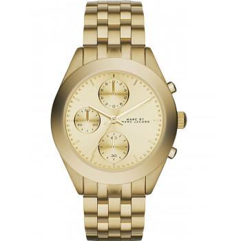 MARC BY MARC JACOBS Peeker Chronograph - MBM3393, Gold case with Stainless Steel Bracelet