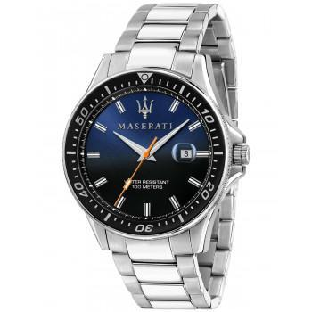 MASERATI Sfida - R8853140001  Silver case with Stainless Steel Bracelet